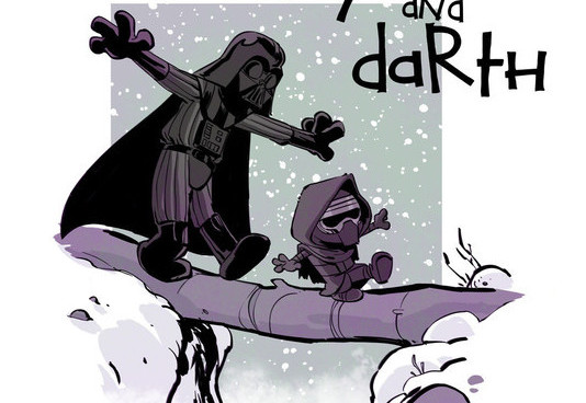 Kylo and Darth - by Brian Kesinger
