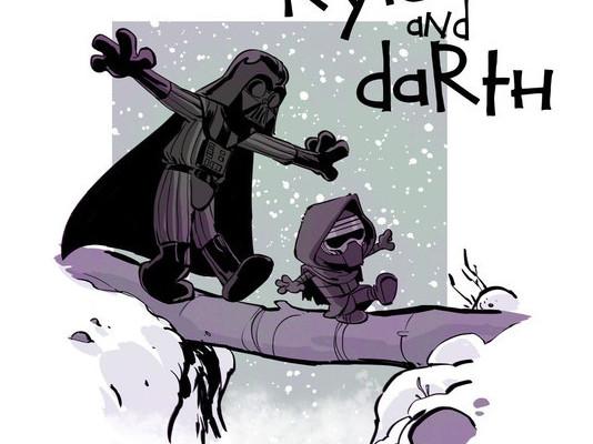 Kylo and Darth - by Brian Kesinger
