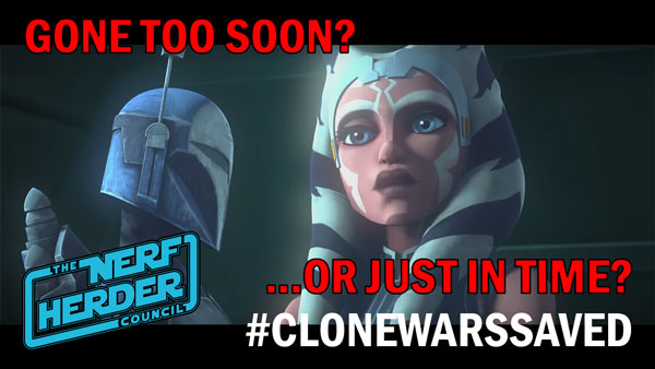 """The Clone Wars"": Gone too soon, or just in time?"