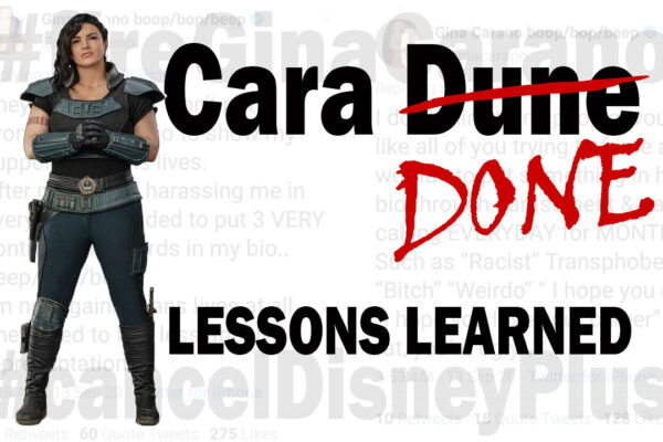 Cara DONE: Lessons Learned from #cancelculture